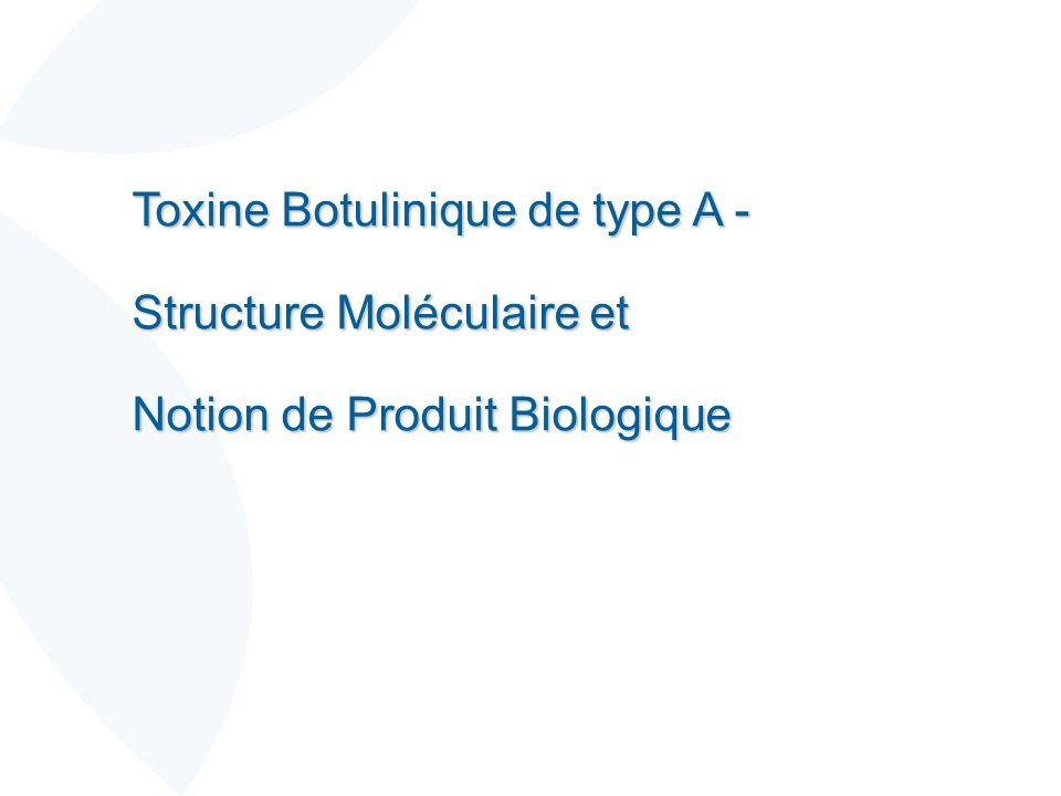 Toxine Botulinique de type A -