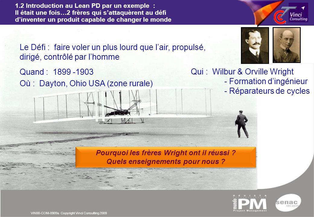 Qui : Wilbur & Orville Wright - Formation d'ingénieur