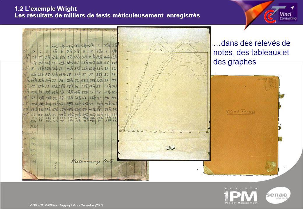 …dans des relevés de notes, des tableaux et des graphes