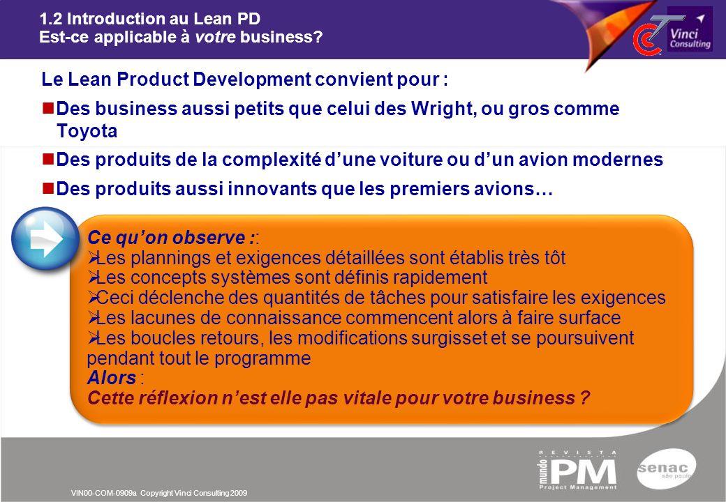 1.2 Introduction au Lean PD Est-ce applicable à votre business