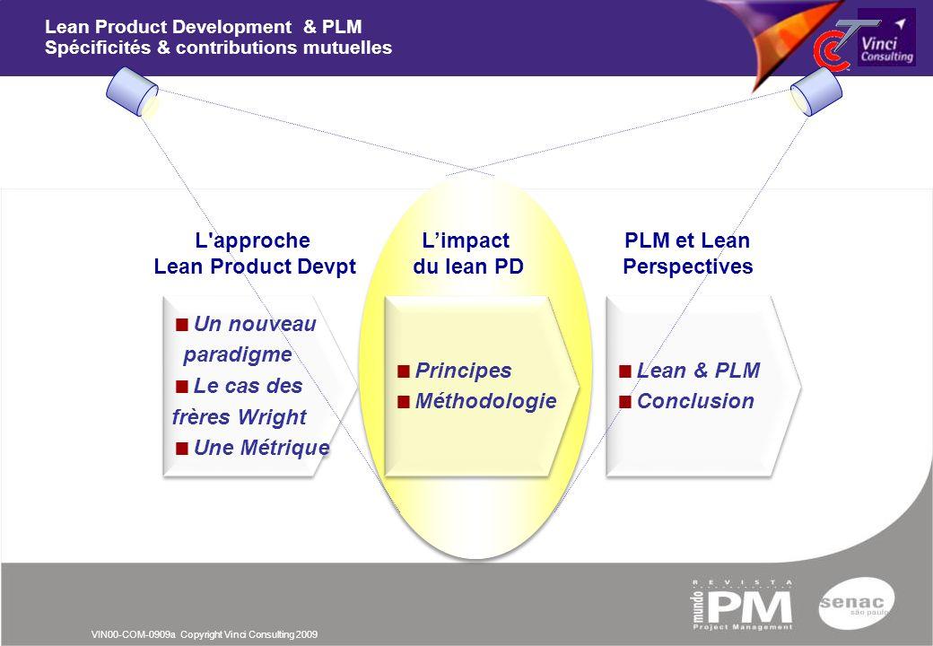Lean Product Development & PLM Spécificités & contributions mutuelles