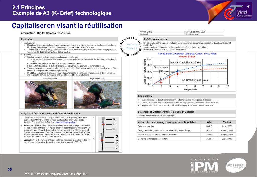 2.1 Principes Example de A3 (K- Brief) technologique
