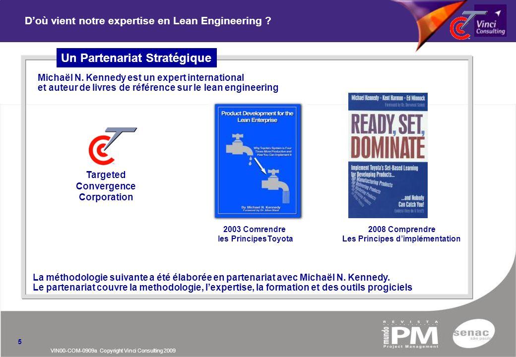 D'où vient notre expertise en Lean Engineering