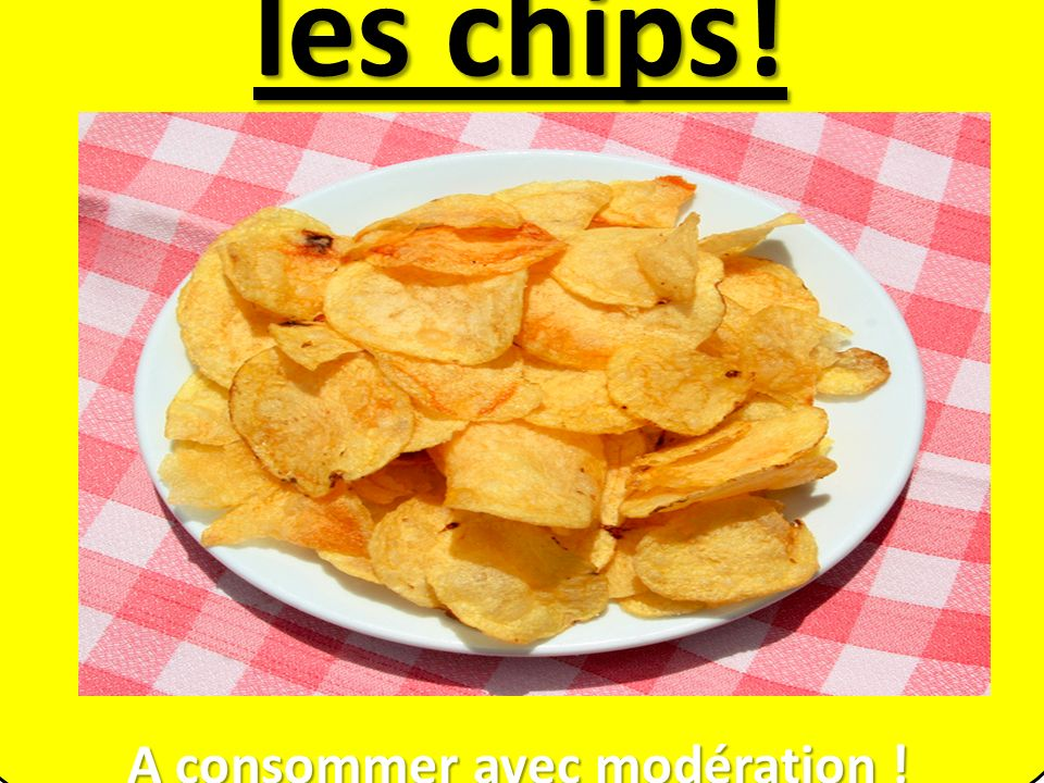 A consommer avec modération !