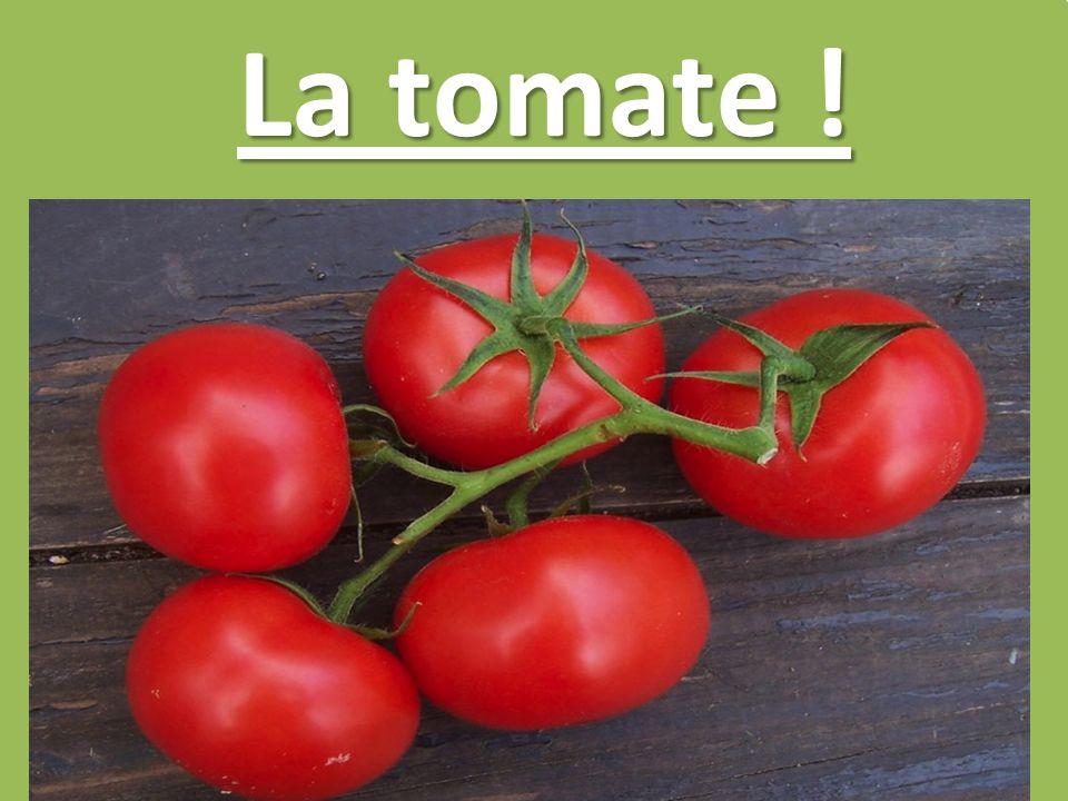 La tomate !