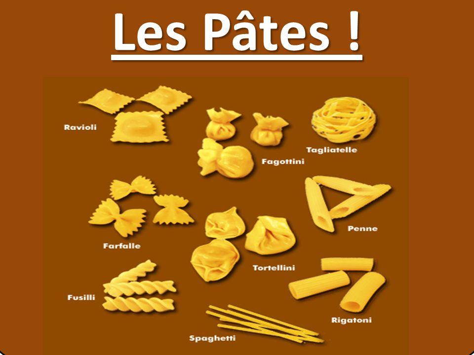Les Pâtes !
