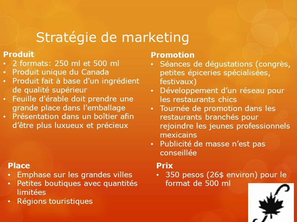 Stratégie de marketing