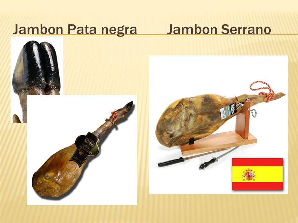 Jambon Pata negra Jambon Serrano