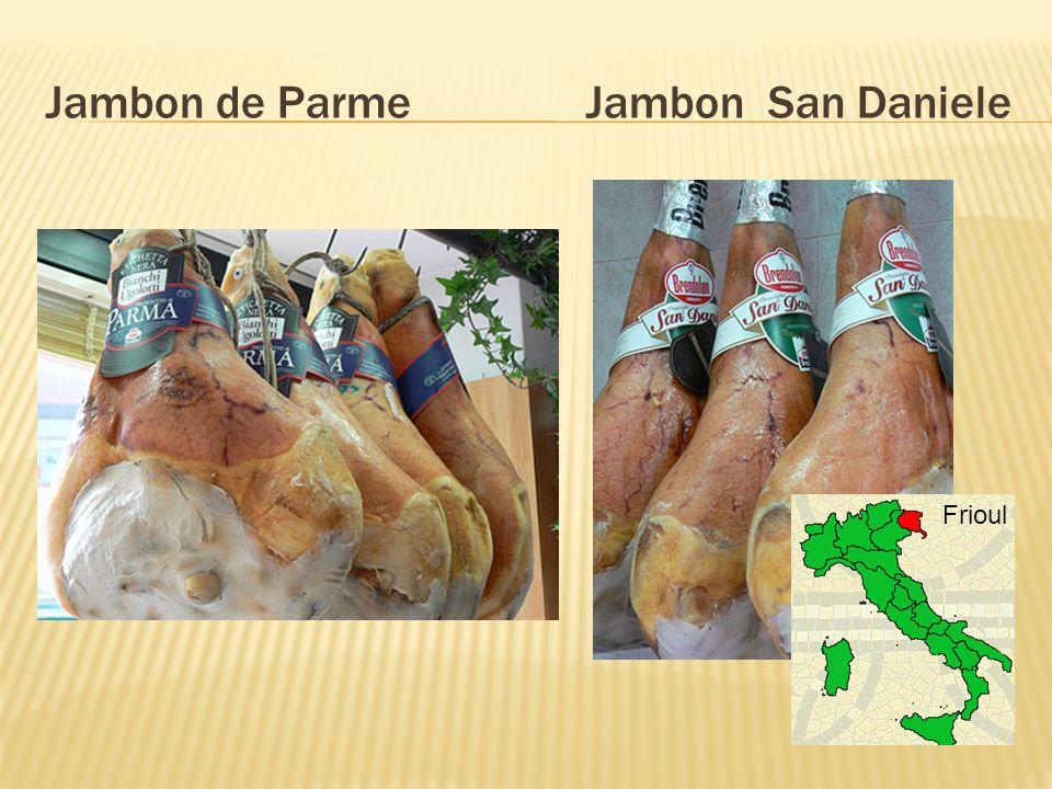 Jambon de Parme Jambon San Daniele