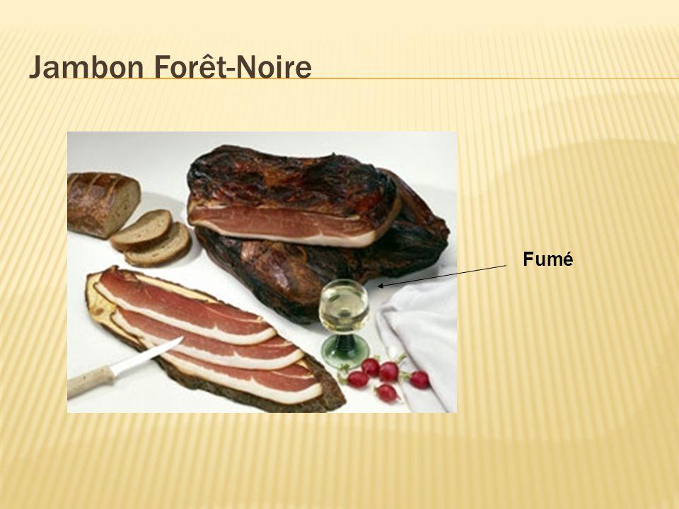 Jambon Forêt-Noire Fumé