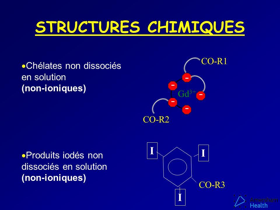 STRUCTURES CHIMIQUES - - - - - I I I CO-R1