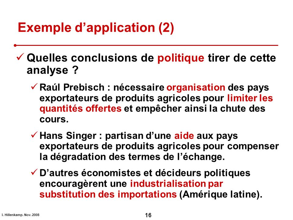 Exemple d'application (2)