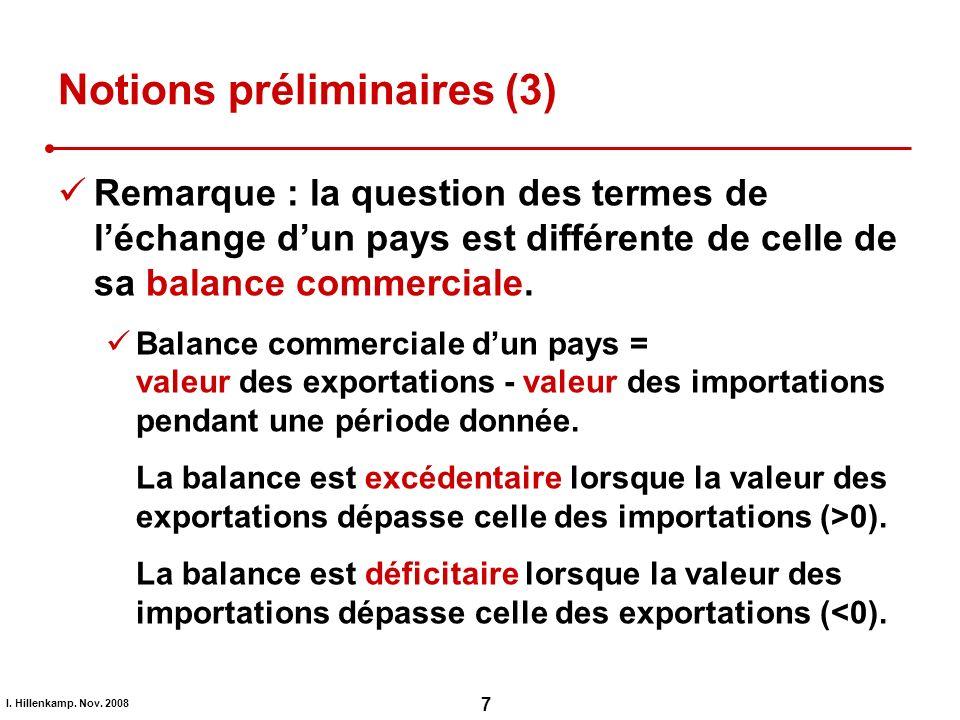 Notions préliminaires (3)