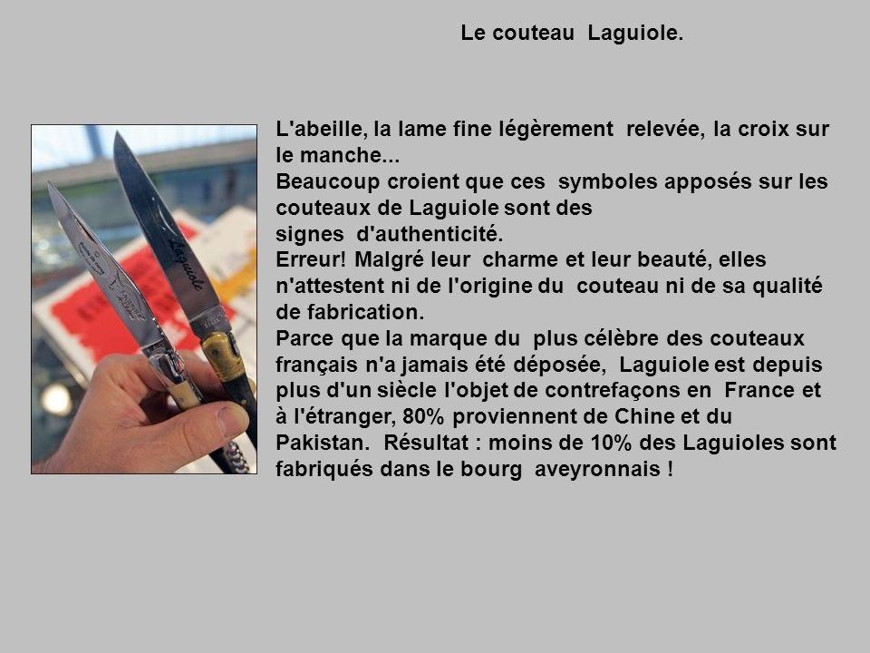 Le couteau Laguiole.