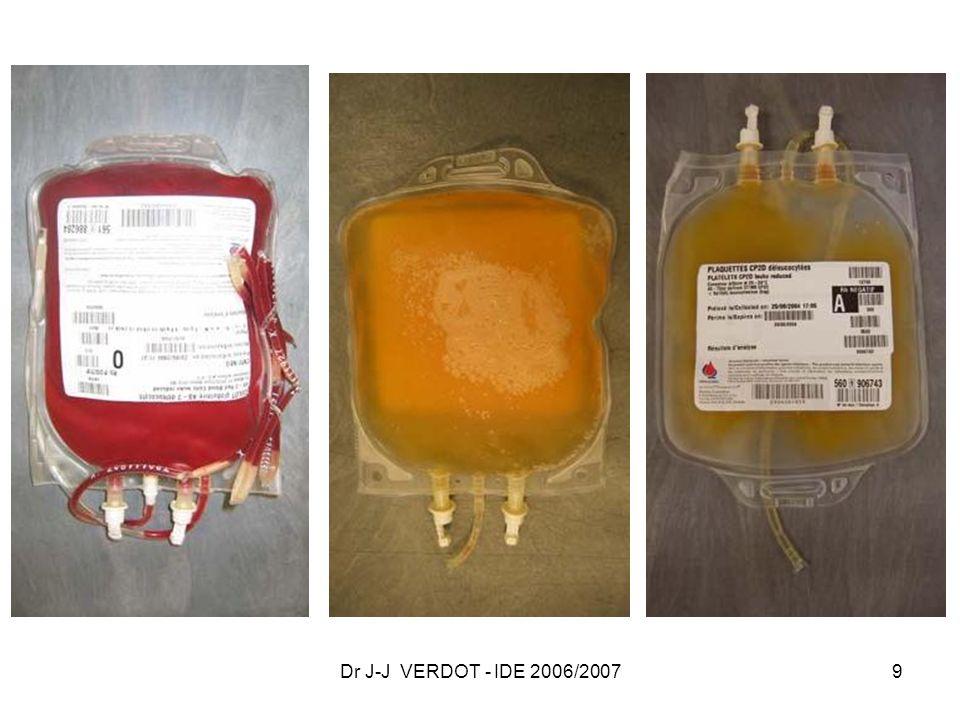 Dr J-J VERDOT - IDE 2006/2007