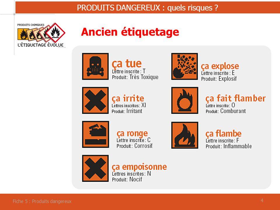 PRODUITS DANGEREUX : quels risques