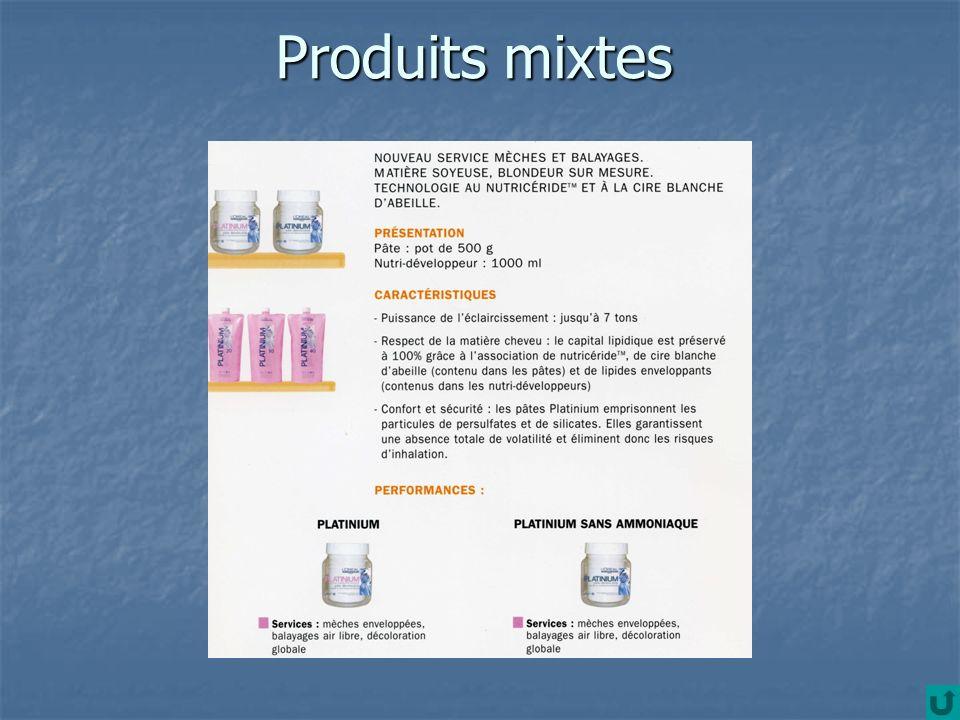Produits mixtes