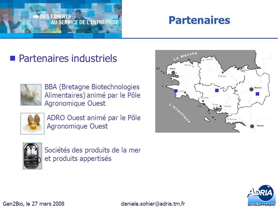 Partenaires Partenaires industriels