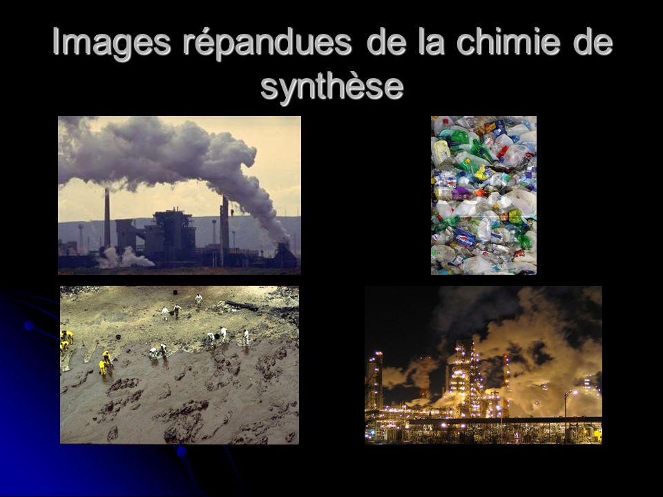 Images répandues de la chimie de synthèse