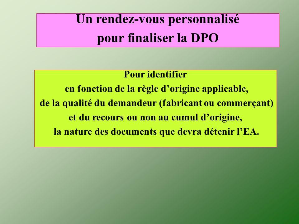 Un rendez-vous personnalisé pour finaliser la DPO
