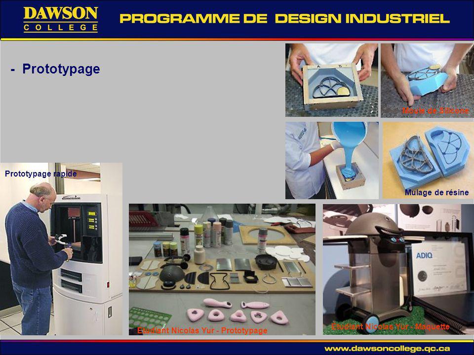 - Prototypage Moule de Silicone Prototypage rapide Mulage de résine