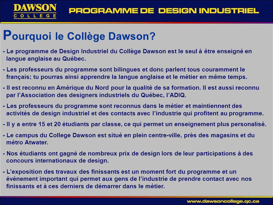 Pourquoi le Collège Dawson
