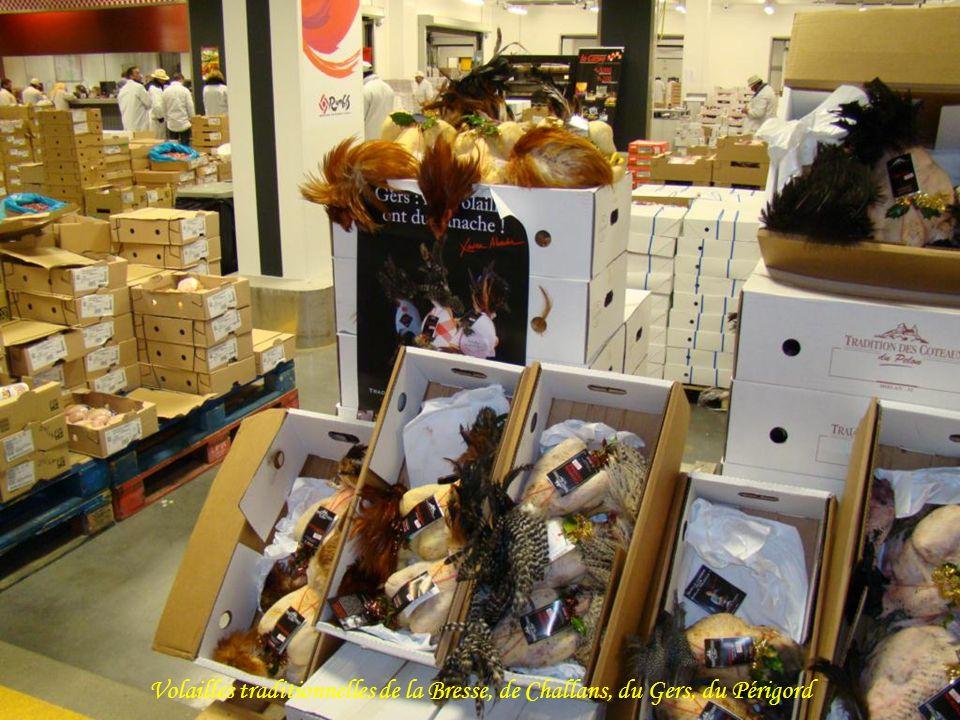 Volailles traditionnelles de la Bresse, de Challans, du Gers, du Périgord