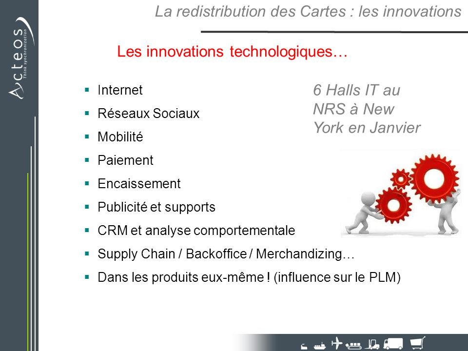 La redistribution des Cartes : les innovations