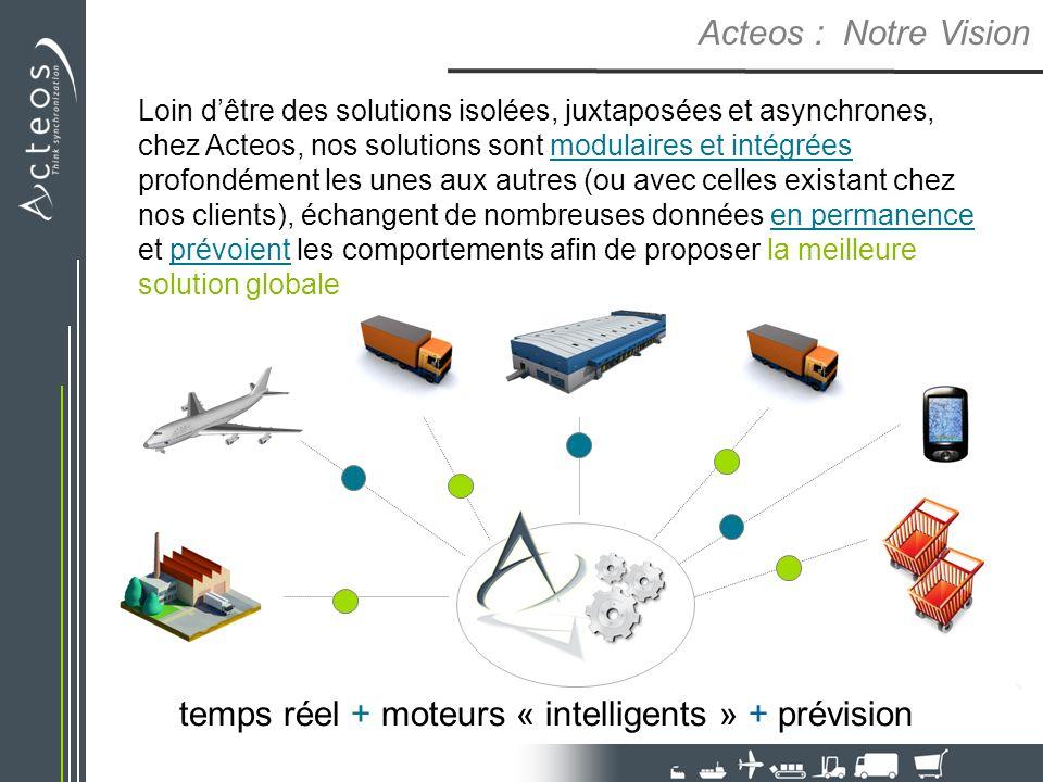 temps réel + moteurs « intelligents » + prévision