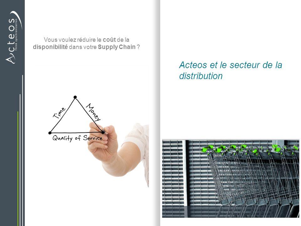 Acteos et le secteur de la distribution