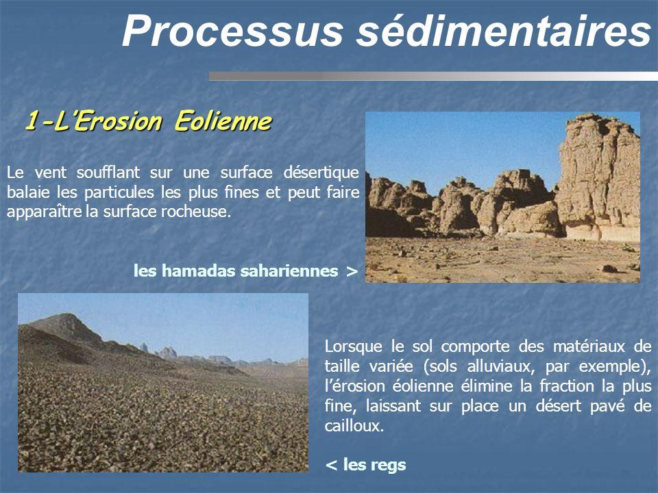 Processus sédimentaires