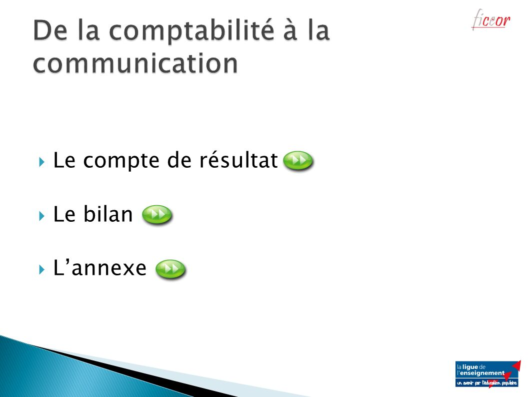 De la comptabilité à la communication