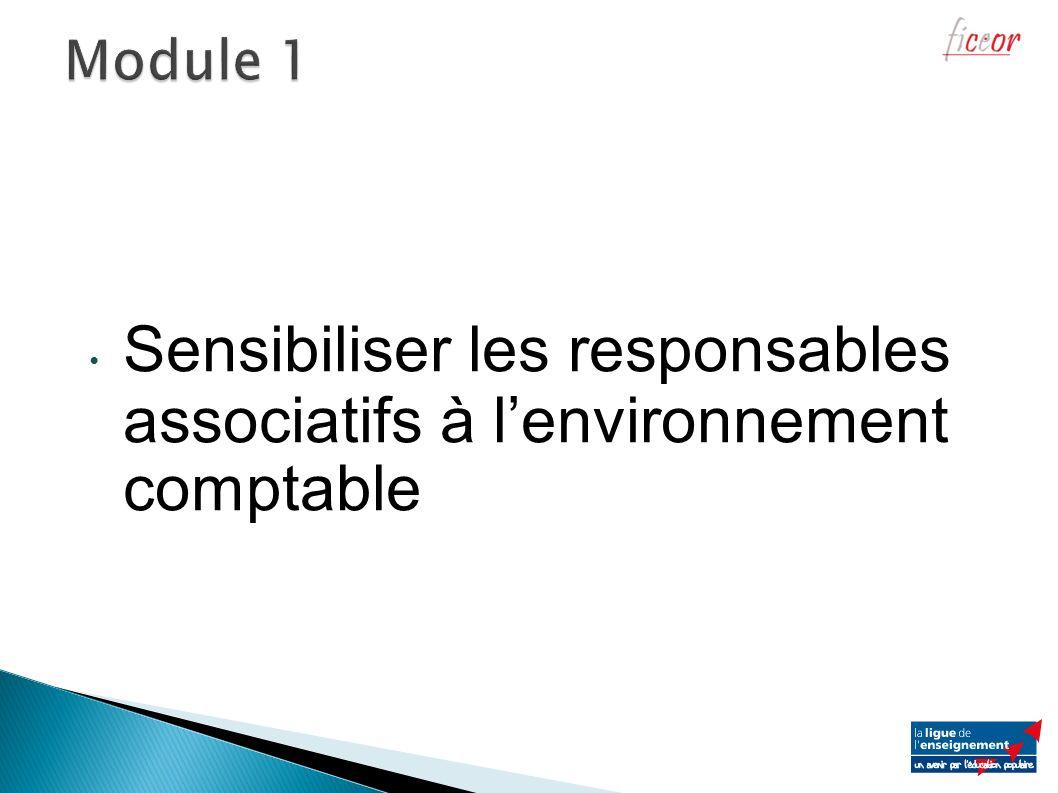 Sensibiliser les responsables associatifs à l'environnement comptable