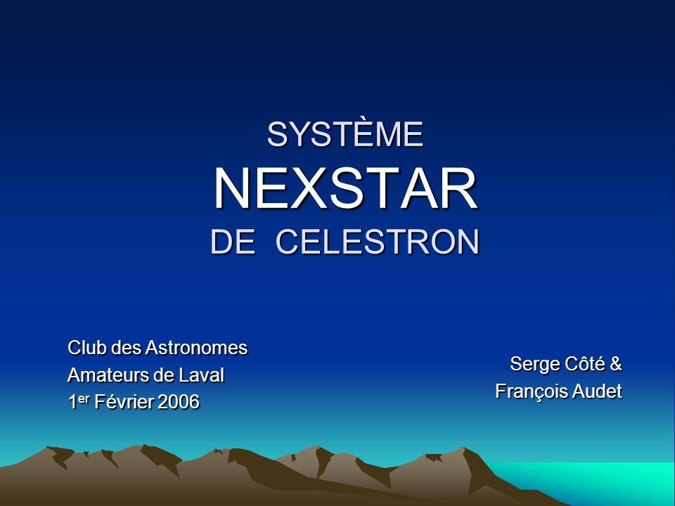 SYSTÈME NEXSTAR DE CELESTRON