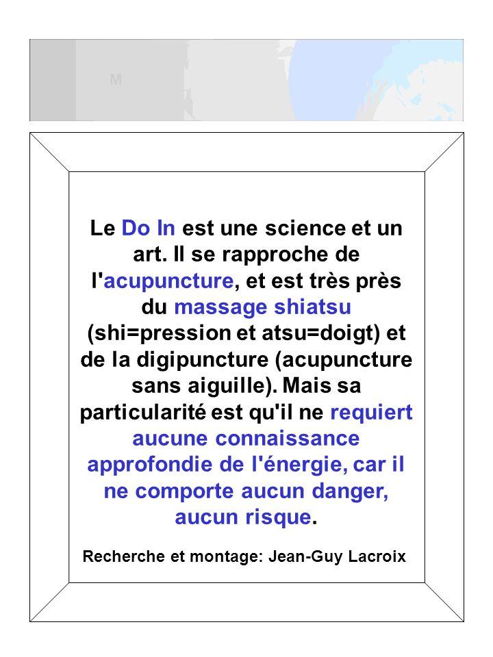 Recherche et montage: Jean-Guy Lacroix