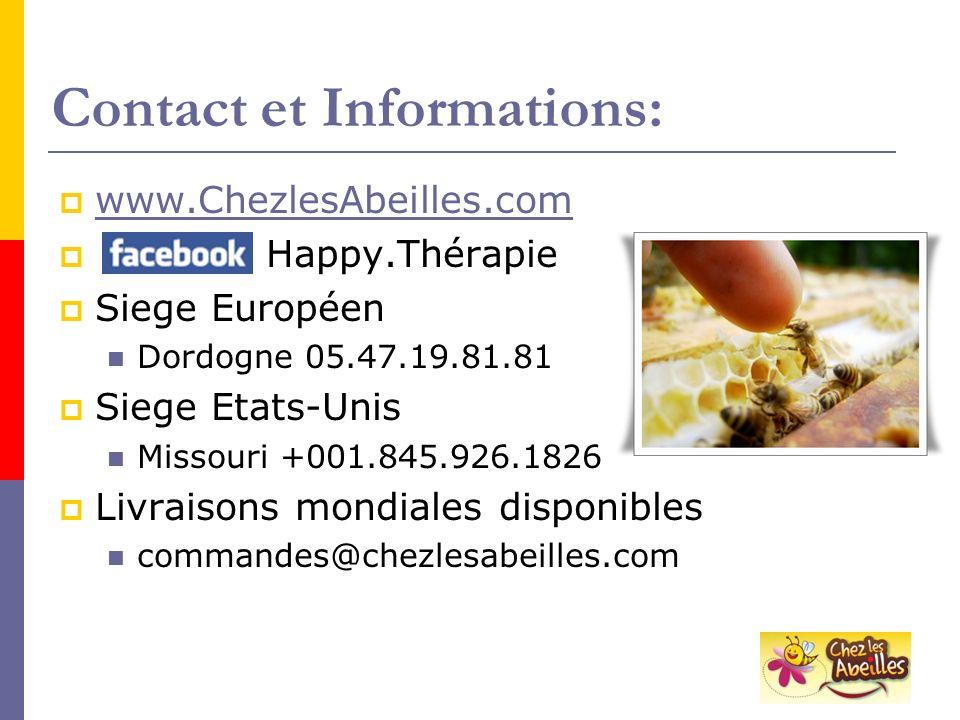 Contact et Informations: