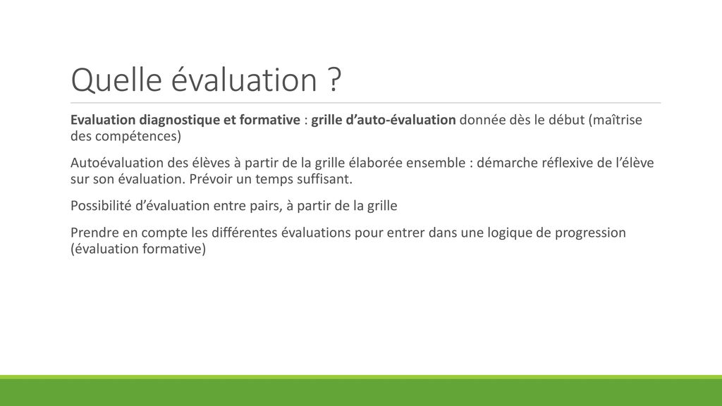 Concepteur mathieu wagner coll ge henri wallon martigues ppt t l charger - Grille d auto evaluation ...