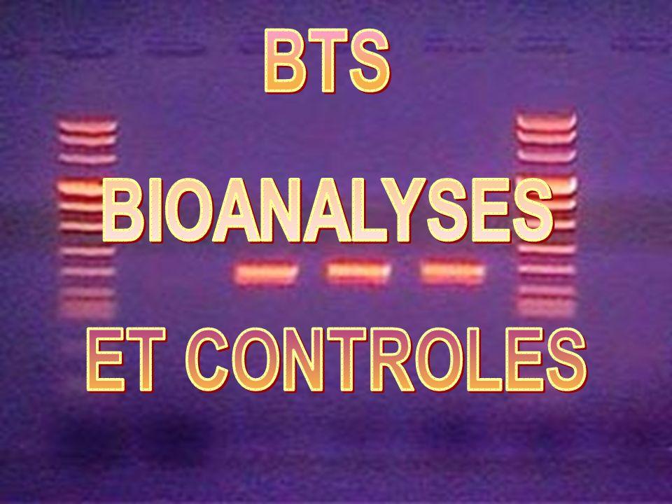 BTS BIOANALYSES ET CONTROLES