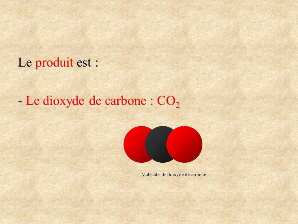 Molécule de dioxyde de carbone