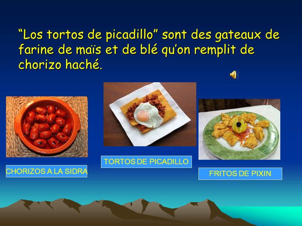 Los tortos de picadillo sont des gateaux de farine de maïs et de blé qu'on remplit de chorizo haché.