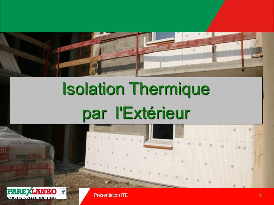 30/03/2017 Isolation Thermique par l Extérieur