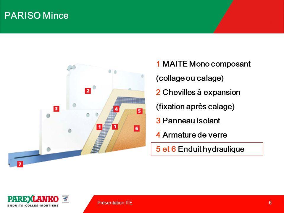 PARISO Mince 1 MAITE Mono composant (collage ou calage)