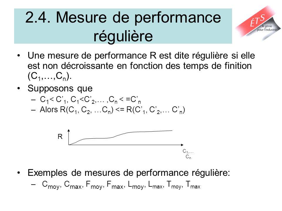 2.4. Mesure de performance régulière
