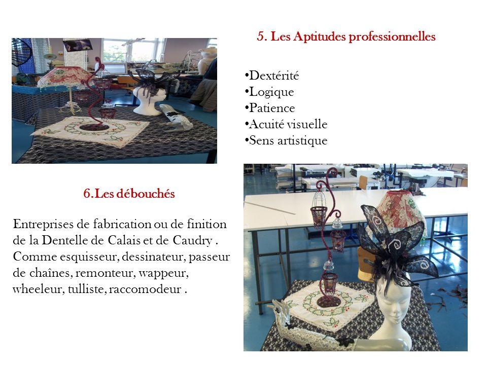 5. Les Aptitudes professionnelles