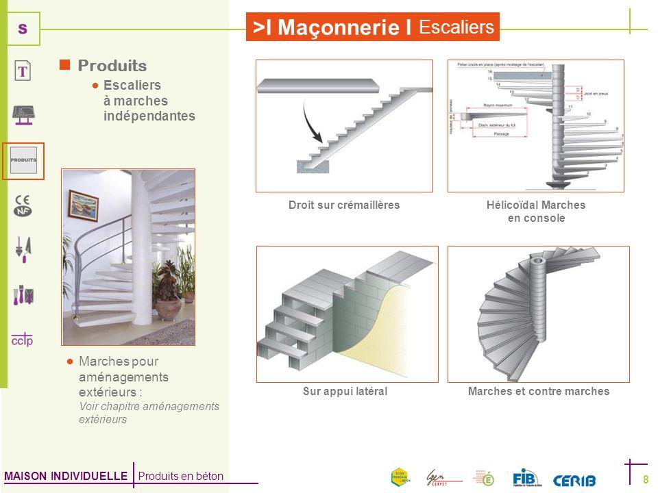 Produits Escaliers à marches indépendantes