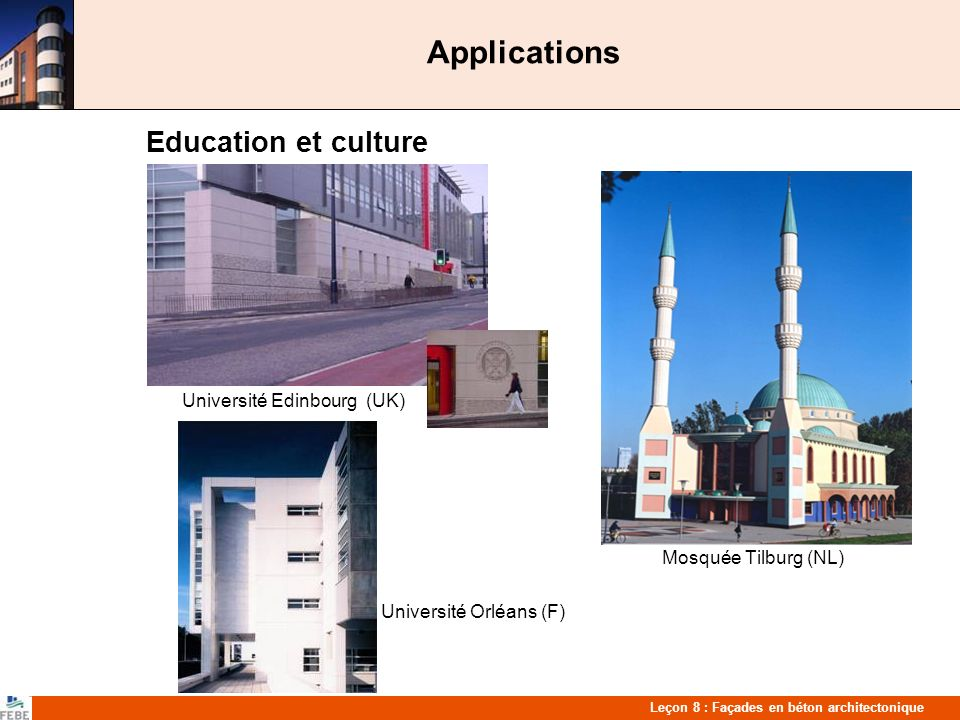 Applications Education et culture Mosquée Tilburg (NL)