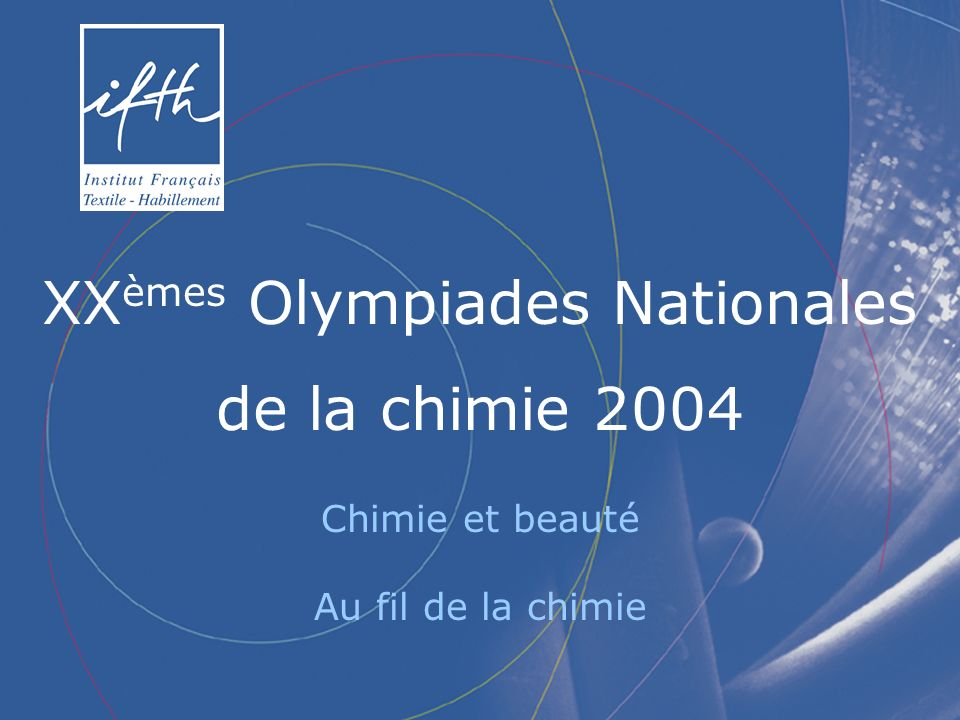 XXèmes Olympiades Nationales