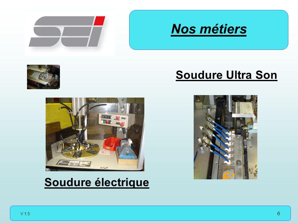 Nos métiers Soudure Ultra Son Soudure électrique