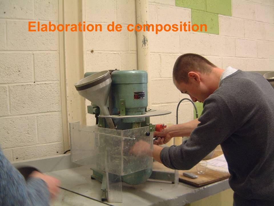 Elaboration de composition