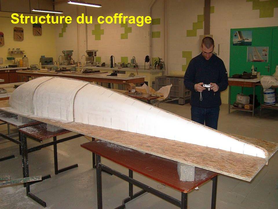 Structure du coffrage